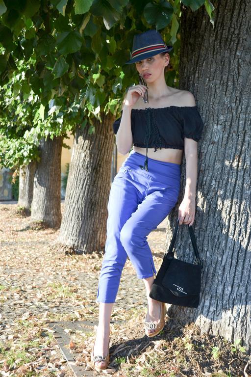 MY OUTFIT Uncategorized @ro  Crop TOP-UL și pantalonii cu talie înaltă