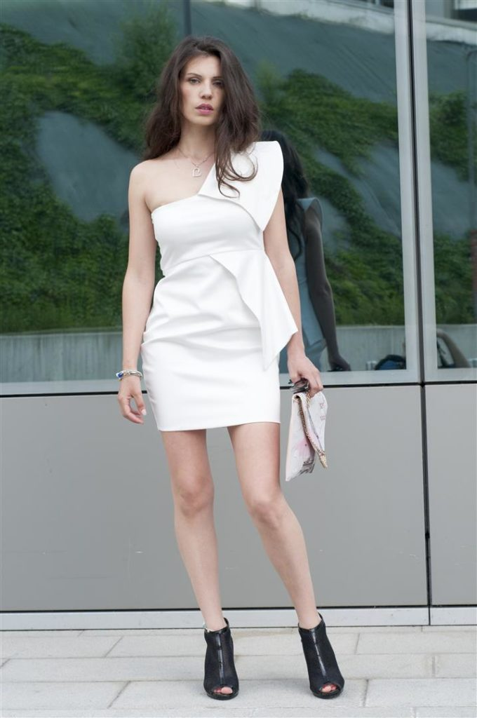 MY OUTFIT  White glamour dress