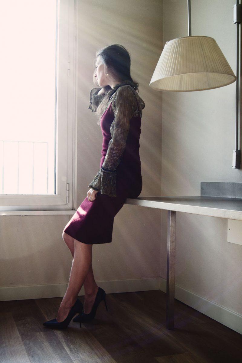 MY OUTFIT  Rochia cu bretele purtată iarna