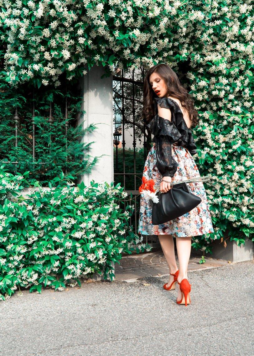 MY OUTFIT Uncategorized @ro  Milano Street Style: Ținutele înflorate