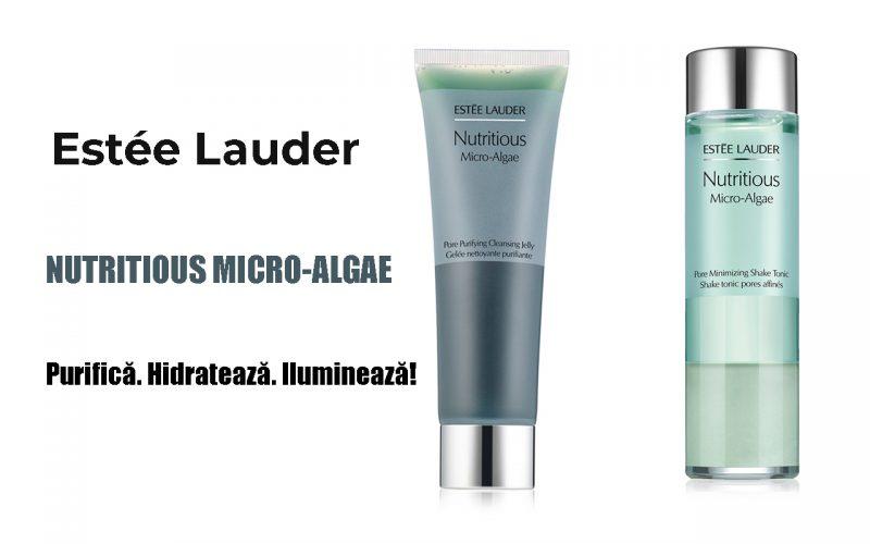 BEAUTY  Răsfăț de lux pentru ten. Estée Lauder: Nutritious Micro-Algae.